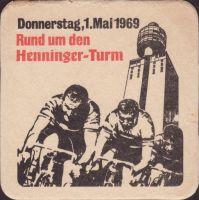 Beer coaster henninger-78
