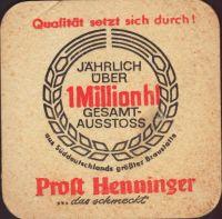 Beer coaster henninger-79