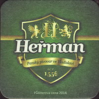 Beer coaster herman-1-small