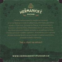Beer coaster hermanicky-2-zadek-small