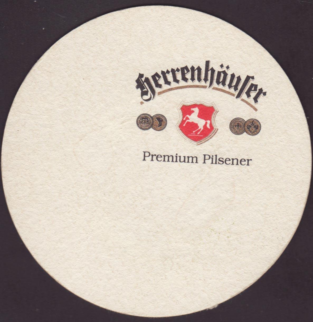 Beer coaster herrenhausen-1