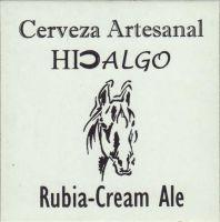 Pivní tácek hidalgo-cerveza-artesanal-1