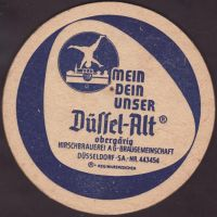 Beer coaster hirschbrauerei-dusseldorf-3-small