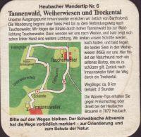 Pivní tácek hirschbrauerei-heubach-l-mayer-9-zadek-small