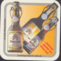 Pivní tácek hirschbrauerei-schilling-2-zadek
