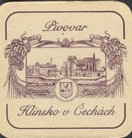 Pivní tácek hlinsko-4
