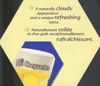 Pivní tácek hoegaarden-2-zadek