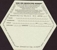 Pivní tácek hoegaarden-261-zadek-small