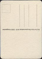 Pivní tácek hoegaarden-30-zadek