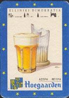 Pivní tácek hoegaarden-30