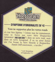 Beer coaster hoegaarden-312-zadek-small