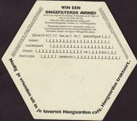 Pivní tácek hoegaarden-382-zadek-small
