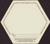 Pivní tácek hoegaarden-388-zadek-small