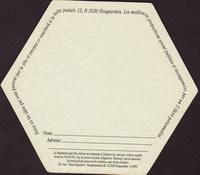 Pivní tácek hoegaarden-396-zadek-small