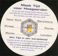 Pivní tácek hoegaarden-75-zadek
