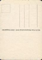 Pivní tácek hoegaarden-80-zadek