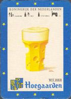 Pivní tácek hoegaarden-80