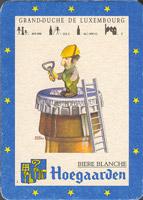Pivní tácek hoegaarden-87