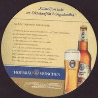Pivní tácek hofbrauhaus-munchen-61-zadek-small