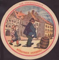 Beer coaster hofbrauhaus-munchen-74-zadek-small