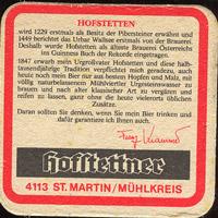 Pivní tácek hofstetten-2-zadek