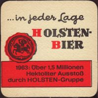 Beer coaster holsten-91