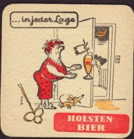 Beer coaster holsten-91-zadek