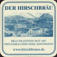 Pivní tácek hoss-der-hirschbrau-12-zadek-small