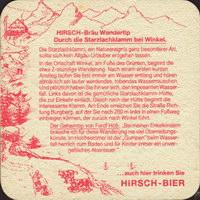 Pivní tácek hoss-der-hirschbrau-14-zadek-small
