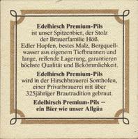 Pivní tácek hoss-der-hirschbrau-22-zadek-small