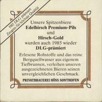 Pivní tácek hoss-der-hirschbrau-23-zadek-small