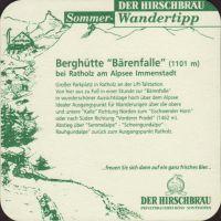 Pivní tácek hoss-der-hirschbrau-32-zadek-small