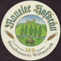 Beer coaster hotel-maueler-hofbrau-1