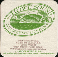 Beer coaster howe-sound-1