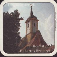 Pivní tácek hubertus-brau-24-zadek-small