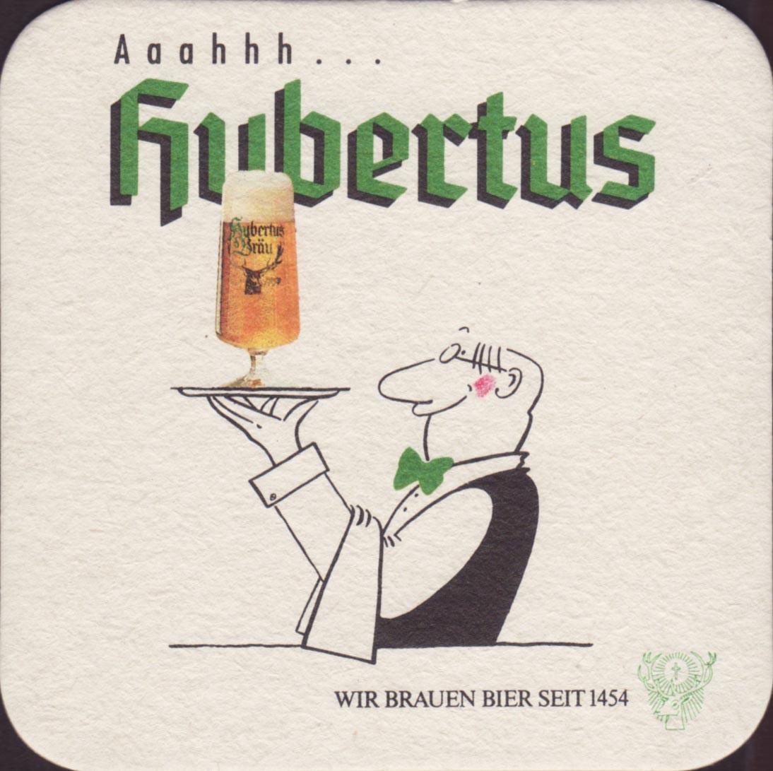 Pivní tácek hubertus-brau-3