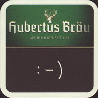 Pivní tácek hubertus-brau-33-zadek-small