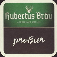 Pivní tácek hubertus-brau-35-zadek-small