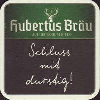 Pivní tácek hubertus-brau-42-zadek-small