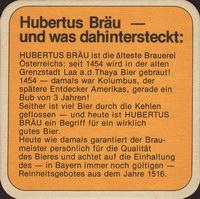 Pivní tácek hubertus-brau-47-zadek-small