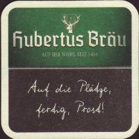 Pivní tácek hubertus-brau-49-zadek-small