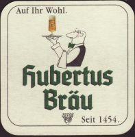 Pivní tácek hubertus-brau-54-small