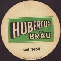 Pivní tácek hubertus-brau-63-zadek-small