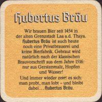 Pivní tácek hubertus-brau-65-zadek-small