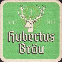 Pivní tácek hubertus-brau-66-small