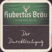 Pivní tácek hubertus-brau-68-small