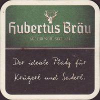 Pivní tácek hubertus-brau-71-small