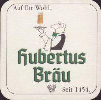 Pivní tácek hubertus-brau-74-small