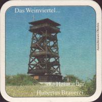 Beer coaster hubertus-brau-74-zadek-small
