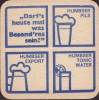 Beer coaster humbser-10-zadek-small